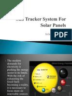 Sun Tracker System for Solar Panels
