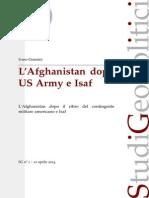 L'Afghanstan dopo US Army e Isaf