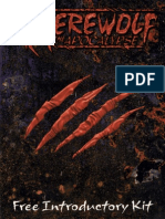 Werewolf the Apocalypse - Free Introductory Kit (7642713)