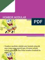 Nombor Modular