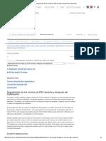 Seguimiento de Los Niveles de PSA Durante y Después Del Tratamiento