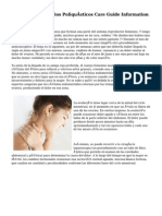 Síndrome De Ovarios Poliquísticos Care Guide Information En Espanol