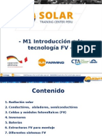 M1 Solar Training - Introducción FV