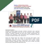 Pelatihan International Postal & Logistic Business Bagi Karyawan POSTEL Timor Leste