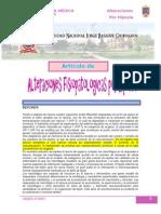 Alteraciones Fisioterapeuticas Por Hipoxia