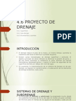 Proyecto de Drenaje