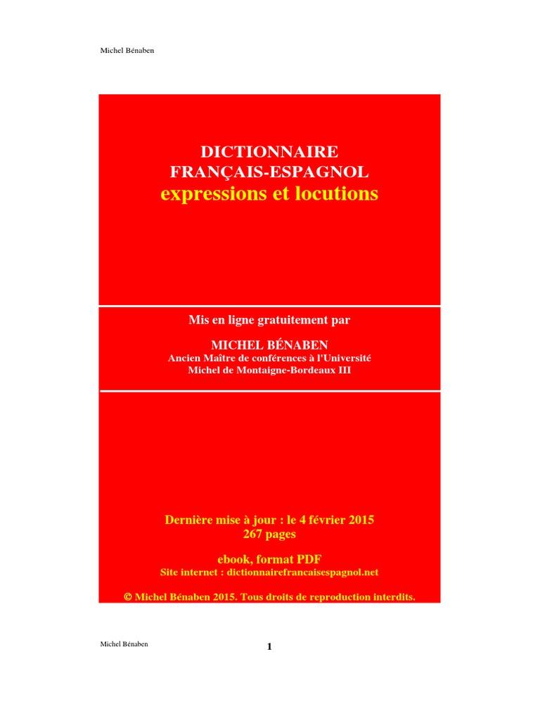 67d45c3da7 Dictionnaire Francais Espagnol