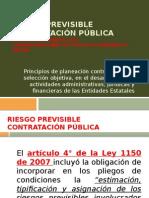 Teoria Del Riesgo de contratación publica en colombia