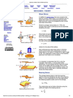 Mechanics EBook_ Shear and Bearing Stress