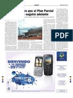 Noticia Diario de Avisos Sobre El Varadero (2007)