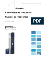 WEG Cfw 11m Linha Modular Drive 10000069136 Manual Portugues Br