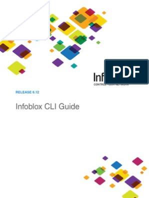 Infoblox CLI guide 6 12 | Command Line Interface | Domain