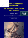 07 Oil and Gas Reserves Estimating - We Have Met the Enemy A