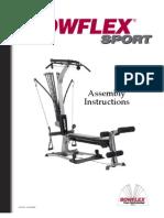 Bowflex Sport Assembly Manual