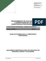 Procedimiento de Evaluación y Acreditacion Comp Higiene Bucodental