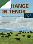 A Change in Tenor