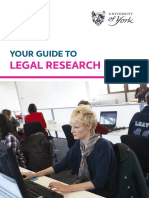 Your Guide to Legal Research