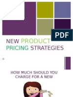 New Product Pricing