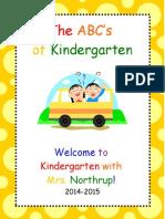 ABCs of Kindergarten