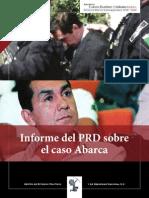 Informe del PRD sobre el caso de Abarca