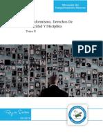Tema II - El Conformismo, Derechos de Privacía y Disciplina