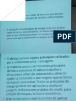 Design Em Projetos de Moda 30 07 15