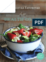 Recetario Semana Health Coach Mujer Holistica