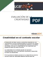 Evaluacion de La Createducacoionividad