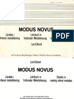 The Modus Novus Lars Edlund