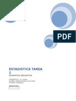 ESTADISTICA TAREA 1