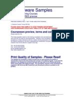Excel 2000 Advanced Training Manual
