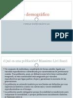 El Cambio Demográfico.