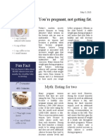 magazine article for expecting moms