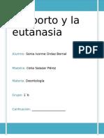 El Aborto y La Eutanasia A