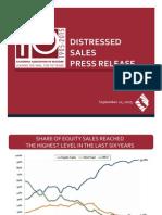 Distressed Sales, August 2015