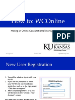 Online and e-Tutoring Appointments (WCONLINE)