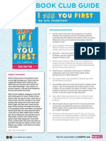 Not If I See You First Book Club Guide