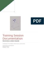 training session documentation group2