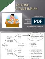 Outline Karya Tulis Ilmiah-2012 (MM)