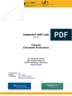 UNXT LCA Chocolate Production Wei3materials