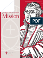 The Journal of Lutheran Mission   September 2015