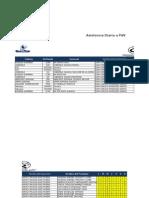 Asistencia - Incidencias Genomma Lab 2°Q de Septiembre  20 sep
