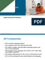 Implementing SIP Gateways
