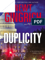 Newt Gingrich's Duplicity, Chapter 1