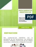 MEDICAMENTOS ANESTESICOS