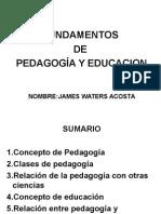 PEDAGOGIA Y EDUCACION N. 2.ppt