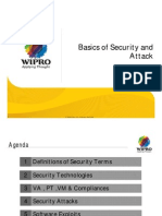 Basics of Security and Attack