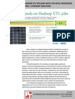 Cost advantages of Hadoop ETL offload with the Intel processor-powered Dell   Cloudera   Syncsort solution