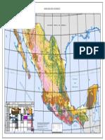 Carta Geologica de Mexico