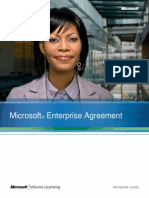 Microsoft Enterprise Agreement Program Guide